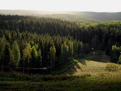 Laajavuori, Jyvaskyla by <b>Timo Rossi</b> ( a Panoramio image )