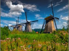 Kinderdijk by <b>Marcel Kraan</b> ( a Panoramio image )