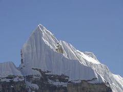 Cholapass Lobuche Peak by <b>Laurent Bois-Mariage</b> ( a Panoramio image )