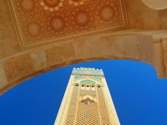 Hassan II mosque , Casablanca by <b>elakramine</b> ( a Panoramio image )