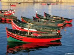 El Jadida - fishing boats by <b>elakramine</b> ( a Panoramio image )