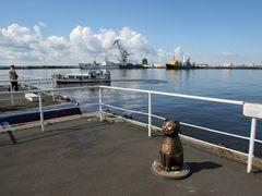 Кронштадт, корабельный  кот by <b>Shkondin</b> ( a Panoramio image )