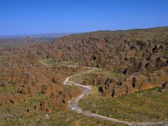 Bunge Bungle Range panorama out of a heli by <b>the Golftraveller</b> ( a Panoramio image )