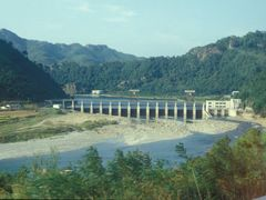 "Dam in Nam-gang near Sinp""yong by <b>Eckart Dege</b> ( a Panoramio image )"