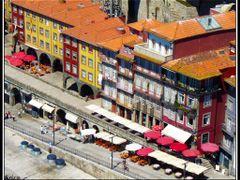 Porto, Ribeira from Luis I bridge by <b>&ri.co</b> ( a Panoramio image )