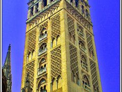 Seville, Giralda Tower by <b>&ri.co</b> ( a Panoramio image )