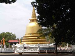 Stupa in the near respectively at the submontane of the monestry by <b>world of pictures by KlausH</b> ( a Panoramio image )