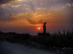 coucher de soleil by <b>aissam1115</b> ( a Panoramio image )