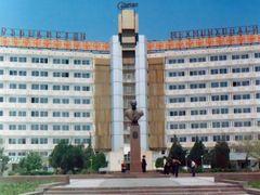 Hotel Uzbekistan by <b>Saloha</b> ( a Panoramio image )