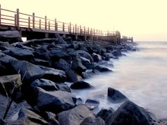 Is it the Choppy Waves... Or  Is it the Serenity of the sea... W by <b>dywin</b> ( a Panoramio image )