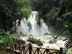 Kuangsi Waterfall, Louangphabang Laos by <b>Le Xuan Hung</b> ( a Panoramio image )