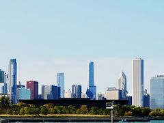Chicago skyline from the South by <b>Antoine Jasser</b> ( a Panoramio image )