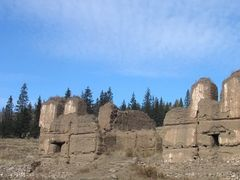 Old temple ruins - Manzushir by <b>prygoff</b> ( a Panoramio image )