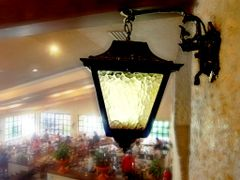 "A light in a crowded place named ""Restaurant Rosita"" by <b>~?slavva?~</b> ( a Panoramio image )"