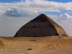 Dahszur #02 Piramida Lamana - The Bent Pyramid by <b>Artur Ziembaczewski</b> ( a Panoramio image )