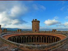 Castillo de Belver - Panoramic View - Palma de Mallorca - Balear by <b>Stathis Chionidis</b> ( a Panoramio image )