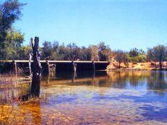 Murchison River old bridge by <b>Geerten</b> ( a Panoramio image )