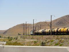 Train in Uzbekistan by <b>xaendi</b> ( a Panoramio image )