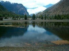 Chame to Hongde below Swargadwari lake delight by <b>Aditya Paranjape</b> ( a Panoramio image )