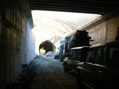 Salang Tunnel South Side entrance by <b>© Morrique</b> ( a Panoramio image )