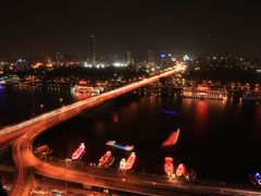 Downtown Cairo at night by <b>Michael Bilodeau</b> ( a Panoramio image )