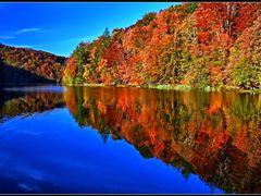Oszi szinek •  Plitvice Nemzeti Park © .  .  . Panoramio Geotagg by <b>Dezso Biczo ©</b> ( a Panoramio image )