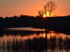 Stara Vuka sunset by <b>vvidak11 - Vanja Vidakovic</b> ( a Panoramio image )