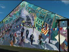 Invergordon murales house by <b>patano</b> ( a Panoramio image )