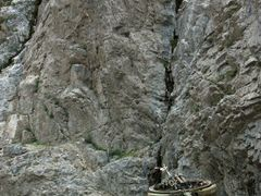 Exit of Panjshir valley to Golbahar by <b>© Morrique</b> ( a Panoramio image )