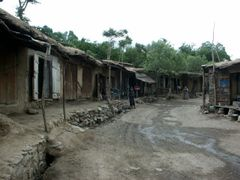 Golbahar, at the entrance (or exit) of Panjshir Valley by <b>© Morrique</b> ( a Panoramio image )