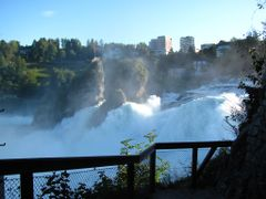 Rheinfall by <b>Canon PS  SX 120 IS</b> ( a Panoramio image )