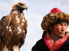Olgii (eagle festival) by <b>zilvana</b> ( a Panoramio image )