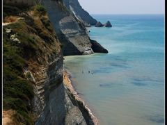 Logas beach, Corfu by <b>vdaniel</b> ( a Panoramio image )