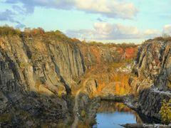 Autumn in the Czech Republic. Velka Amerika (Big America, Czech  by <b>Roman Zazvorka</b> ( a Panoramio image )