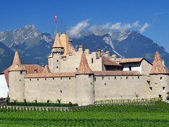 """Castle Aigle,Le Chateau d""""Aigle  by <b>Michael  D</b> ( a Panoramio image )"""