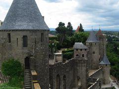 Башти фортеці Каркасон / Tower Carcassonne fortress by <b>VLADiMIR+</b> ( a Panoramio image )