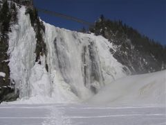 Chutes Montmorency by <b>CharlotteD</b> ( a Panoramio image )