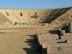Cezarea - amfiteatr rzymski by <b>Zygmunt Borowski</b> ( a Panoramio image )