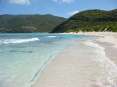 Savannah Beach, Virgin Gorda by <b>DeEtte Fisher</b> ( a Panoramio image )