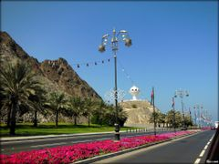 Al Riyam Monument - Mutrah - Muscat in Oman  ....{by Bassam} by <b>~Bassam</b> ( a Panoramio image )