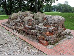 ruins of church on Dubingiai mound by <b>Danute</b> ( a Panoramio image )
