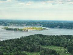 Sztokholm, widok z wiezy telewizyjnej by <b>BernardJ47</b> ( a Panoramio image )