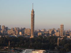 Cairo tower by <b>Dr.Azzouqa</b> ( a Panoramio image )