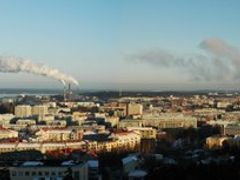 Tampere Downtown seen from Pyynikki. Picture towards east. by <b>Petri Sirkkala</b> ( a Panoramio image )