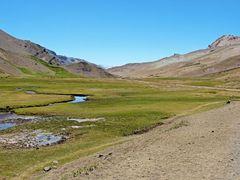 """Vista """"Rio de Vergara"""" y  """"Ruta J-55"""" paso internacional """"Vergar by <b>Omar Gobbi</b> ( a Panoramio image )"""
