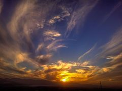 amazing sky by <b>aissam1115</b> ( a Panoramio image )