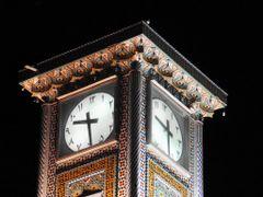 Qom clock tower by <b>Yaa Amir</b> ( a Panoramio image )