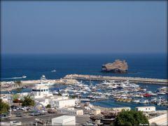 Marina Bandar/Al-Rawdha in Muscat Oman  ....{by Bassam} by <b>~Bassam</b> ( a Panoramio image )