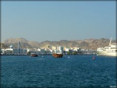 Matrah Harbor - Muscat Oman  ....{by Bassam} by <b>~Bassam</b> ( a Panoramio image )