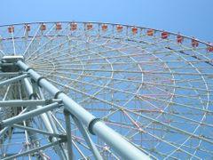 Tempozan Giant Ferris Wheel by <b>Petteri Kantokari</b> ( a Panoramio image )